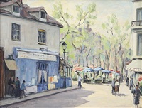 place du tertre paris by giuliano emprin