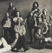 rock groups (san francisco) by irving penn
