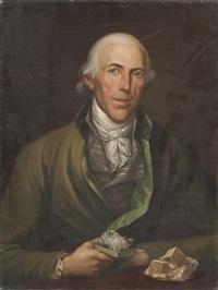portrait eines mineralogen by friedrich georg weitsch