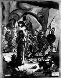 der untergang troja's by karl david