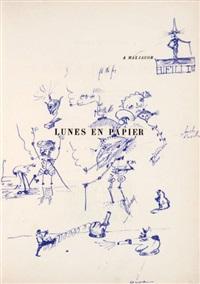 lunes en papier (bk by andré malraux w/7 works) by fernand léger