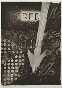 untitled (set of 3) by jasper johns