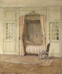 intérieur d'une chambre by walter gay