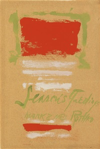 untitled (season's greetings) by mark rothko