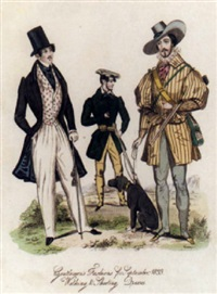 regency gentlemen's fashions by william wolfe alais