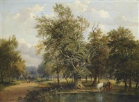 on putney heath by jane nasmyth