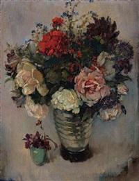 vase of flower by lee man fong