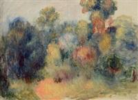 paysage de cagnes by pierre-auguste renoir