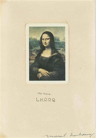 lhooq rasée by marcel duchamp