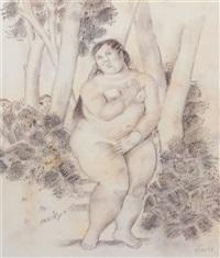 nude by fernando botero