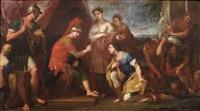 storie di gneo marcio coriolano (a pair) by sebastiano conca