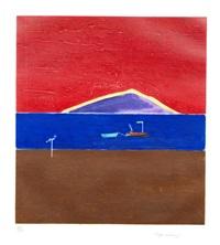 holy island by craigie aitchison