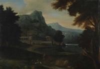 paesaggio by gaspard dughet