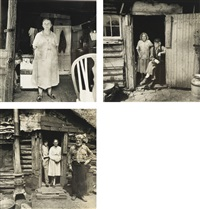 ramapo mountain people (3 works) by diane arbus