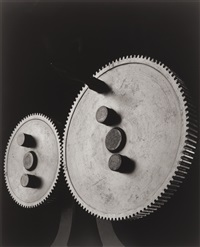 spur gears (0034) by hiroshi sugimoto