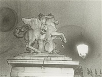 paris. cheval de marly by ilse bing