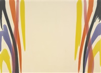 alpha iota by morris louis