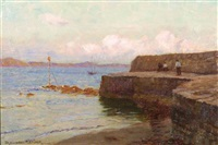 the cobb, lyme regis by blandford fletcher