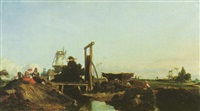 moulins dans la campagne by georges de lafage-laujol