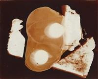 documentary photogram breakfast #4 by robert heinecken