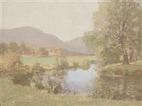 summer landscape, ayrshire by george houston