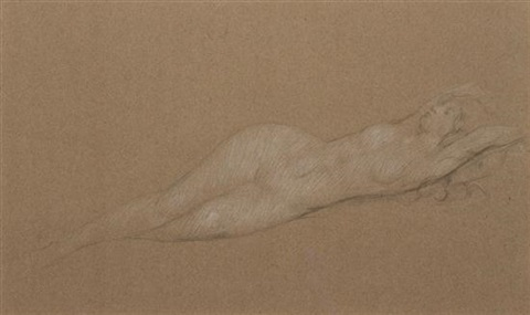 reclining nude by philip leslie hale