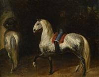 le manège by théodore géricault