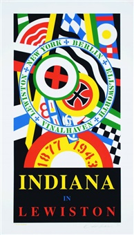 indiana in lewiston by robert indiana