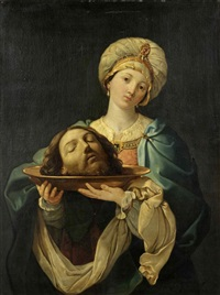 salome with the head of saint john the baptist by guido reni