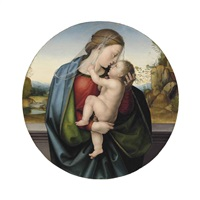 the madonna and child by fra bartolommeo