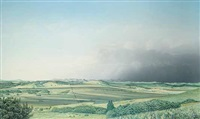 tongue creek, panorama by william (bill) h. webb