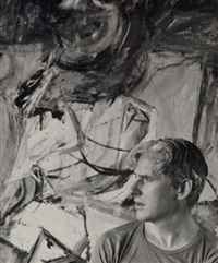 willem de kooning by hans namuth