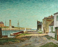harbour scene by william warden