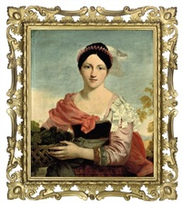 portrait of mrs. charles h. bellenden ker by sir charles lock eastlake