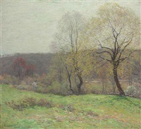 may pastoral by willard leroy metcalf