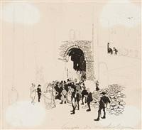 congrès des archéologues - le gravensteen by jules de bruycker