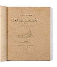 parallèlement (bk by paul verlaine w/10 works) by pierre bonnard
