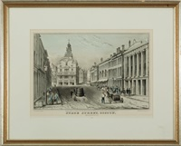state street, boston by nathaniel currier