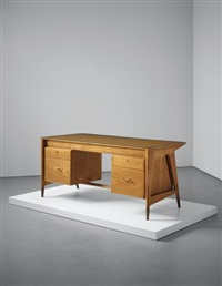desk, from an office of a law firm, milan by gio ponti