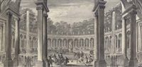 la colonnade by jacques rigaud