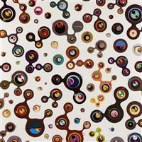 jellyfish eye (2 works) by takashi murakami