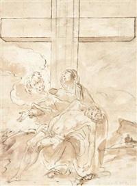 pietà by sebastiano conca