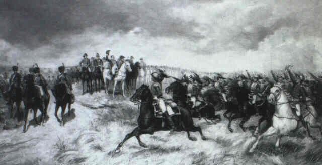 napoleon pasando revista by j. aarcon