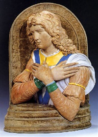 angelo adorante by luca della robbia the younger