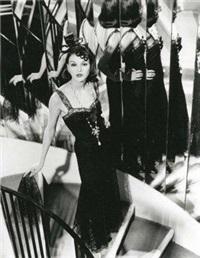 chanel n°1, robe dentelle noire 1930, sonia by karl lagerfeld