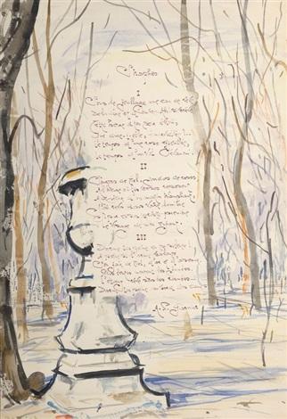 poème de ap garnier sur un parc by takanori oguiss