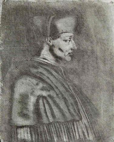le cardinal damboise by joseph nicephore niepce