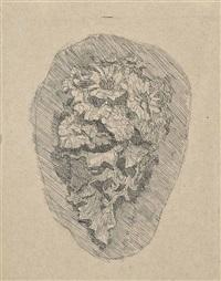 fiori in un cornetto inscritto in un ovoide by giorgio morandi