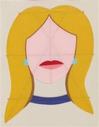 blonde kite by tom wesselmann