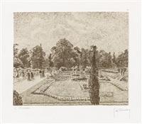 jardins formals by camille pissarro